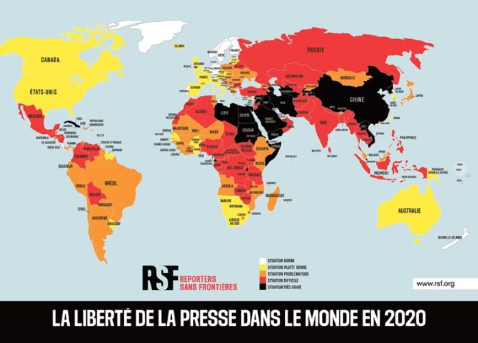 Classement Rsf 2021 I Les Comores perdent neuf places et classées 84e au  niveau mondial -
