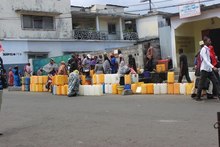 Moroni frappée par une pénurie de l'eau en ce moment